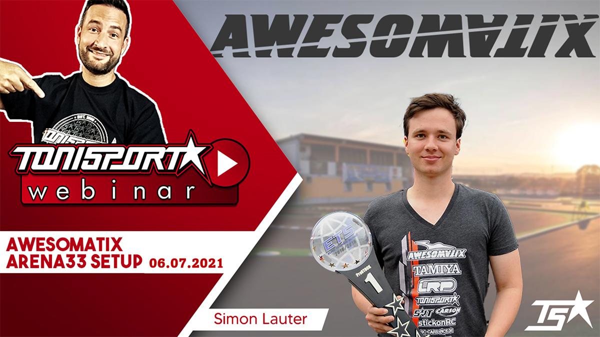 Zusammenfassung ToniSport Webinar: Awesomatix Arena33 Setup mit Simon Lauter