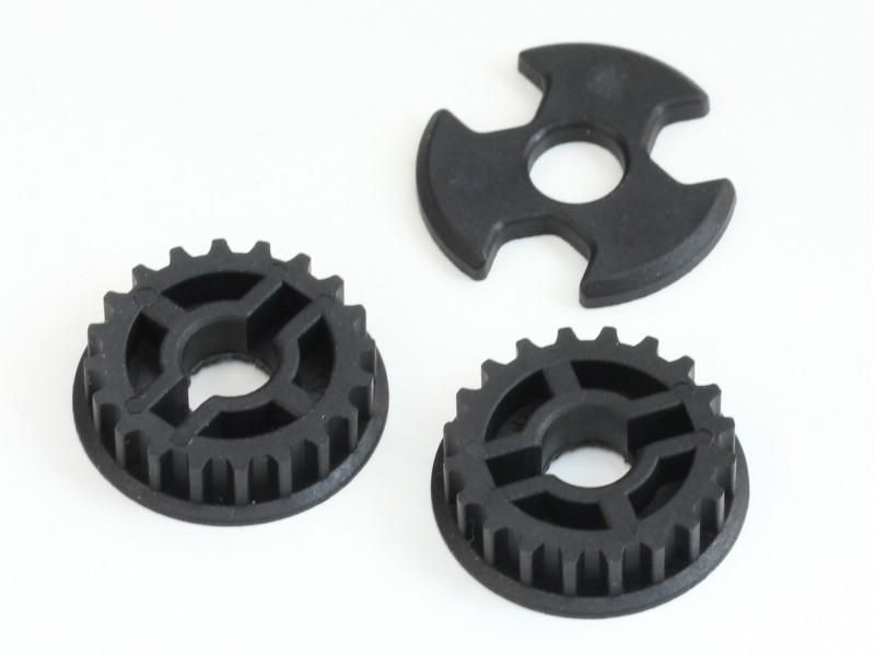 Destiny Plastic Center Pulley Set Rx 10s Destiny